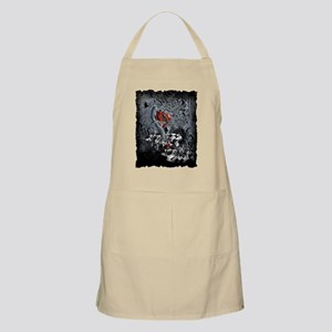 Raven Heart Dark Tree by Juleez Light Apron